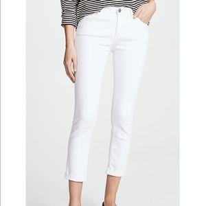 AG skinny jeans in white!! Like new!!